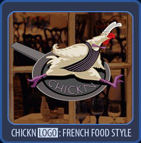 logo french food