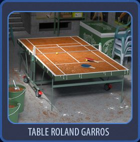 Table Roland Garros
