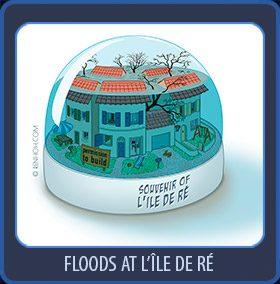 floods at lîle de Ré