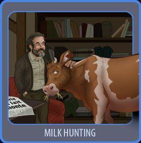 milk hunting