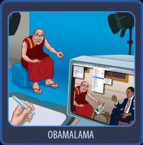 rencontre Obama et le Dalaï Lama