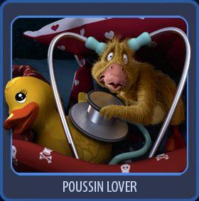Poussin 3D