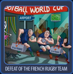 defeat for the XV of France