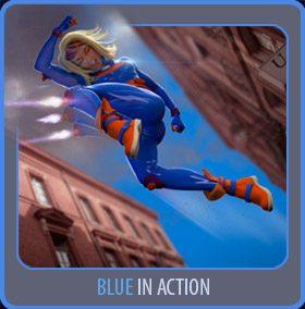 Blue Action 3D